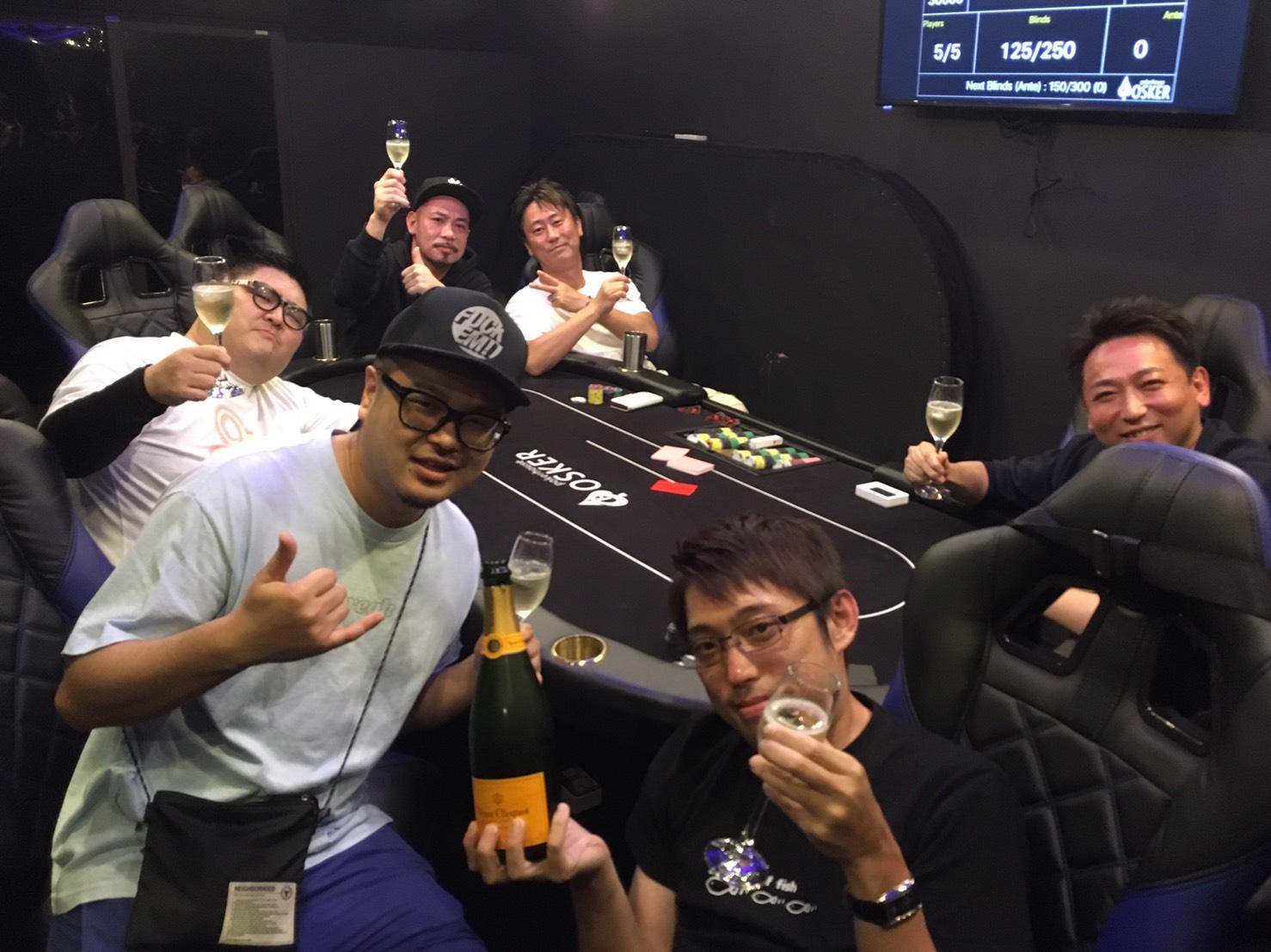 DOG代表 APT Main優勝祝勝会トーナメント開催!